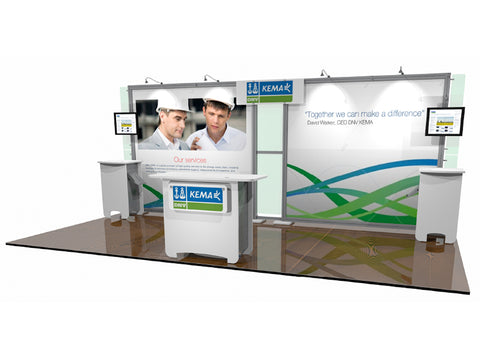 20' Scalable DesignLine Inline Display 2
