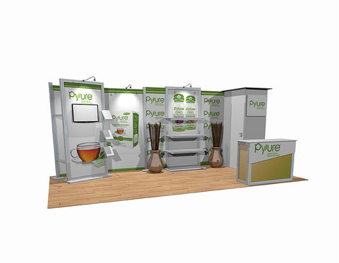 20' DesignLine Modular Inline Display