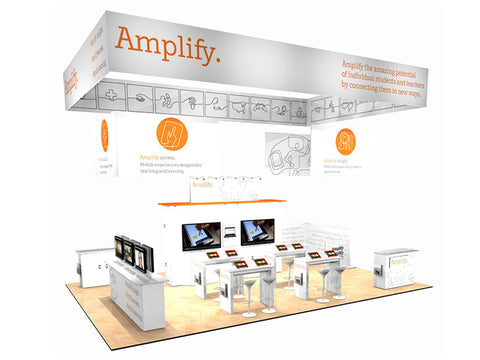 20' x 30' Scalable DesignLine Island Exhibit
