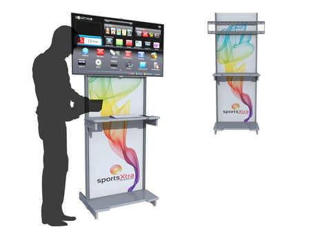 "71"" AV Kiosk Workstation"