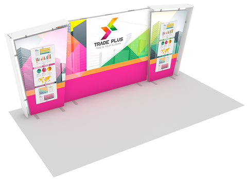 20' LightWall Custom Modular Exhibit