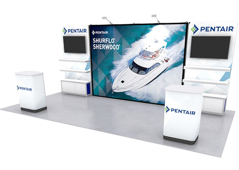 20' Instand Exhibit Wall Display