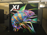 X1s™ 8ft Space 3x3 Backlit Display with 2 Endcaps