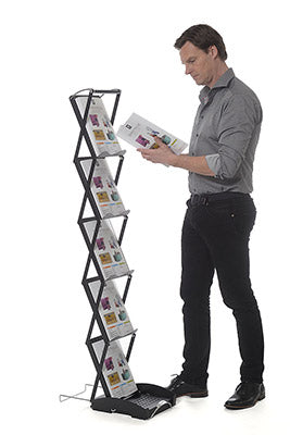SwingUp Literature Rack