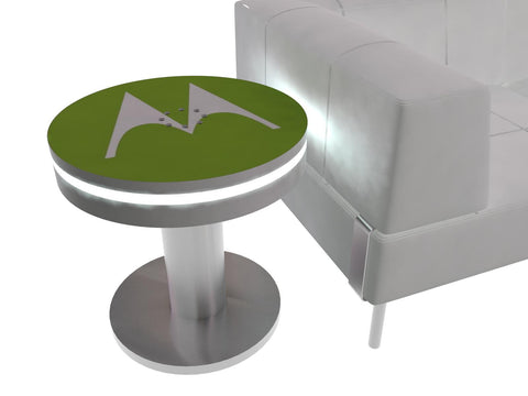 Charging End Table - Round