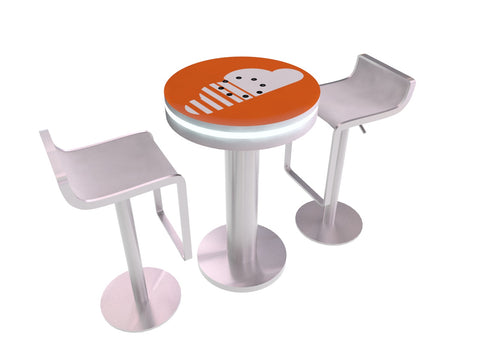 Charging Cafe Table - Round