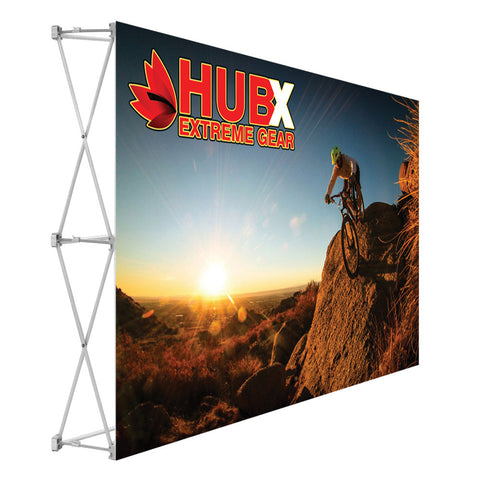 Budget Popup Tabletop Display - 8ft. (no endcaps)