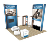 20' Custom Modular Exhibit Island
