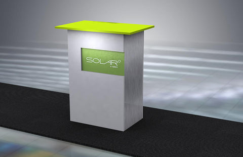 Solar KD Free Standing Counter 2
