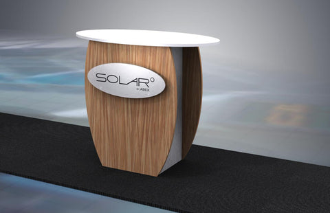 Solar KD Free Standing Counter 6