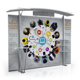 10ft Timberline™ Modular Display w/ Arch Top & Fabric Sides