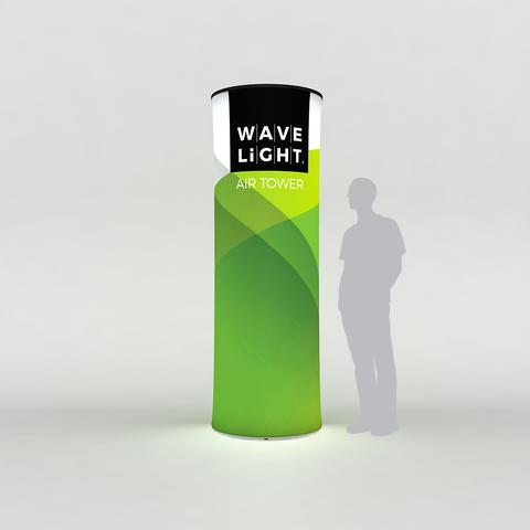 "WaveLight® Air Backlit Inflatable Circular Tower - 90""H"