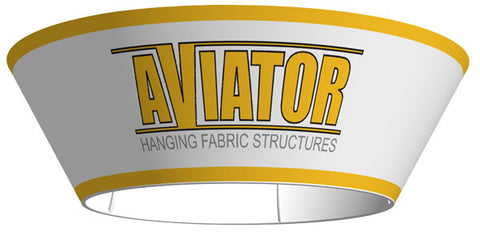 "AVIATOR™ Tapered Circle Hanging 10'W x 42""H"