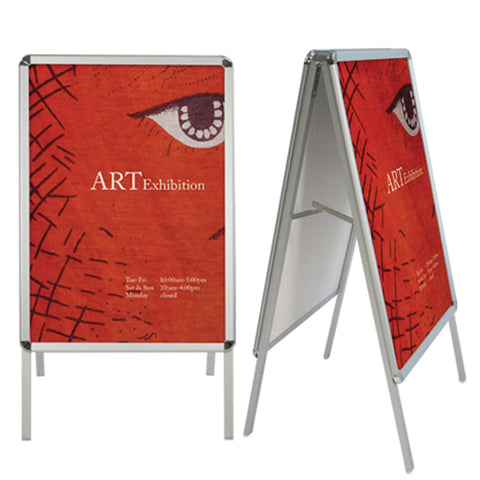 Aluminum Snap Frame With Double-Sided Graphic