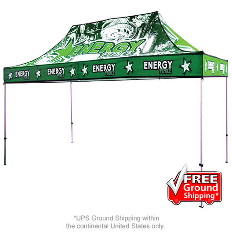 15 Ft. Casita Canopy Tent Full-Color UV Print