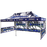 20 Ft. Casita Canopy Tent Full-Color UV Print