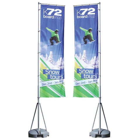 Mondo Flagpole 13 Ft. Double-Sided