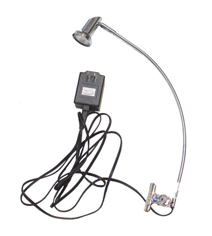 Banner Stand Clamp Light (35W) - Silver