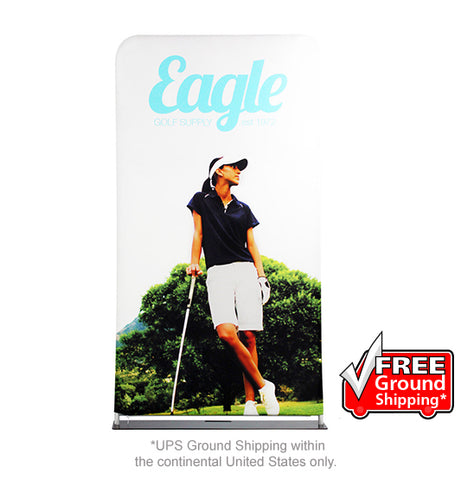 EZ Extend - Double-Sided Fabric Display - 4' Wide