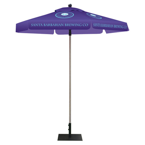 Skycap Umbrella - Hexagon Full Color Print