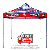 10 Ft. Casita Canopy Tent - with Full-Color UV Print