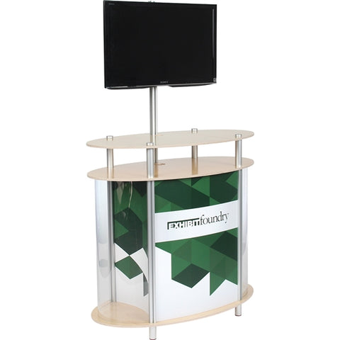 Ellipse Vertical Showcase Foundry Kiosk