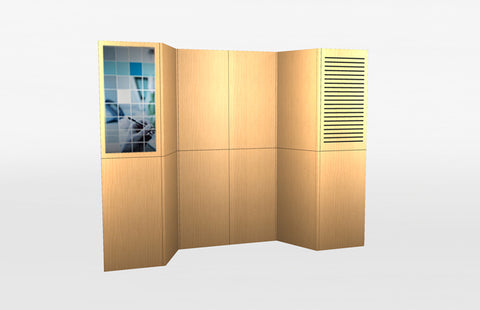10 Foot Laminate Panel Display System 1