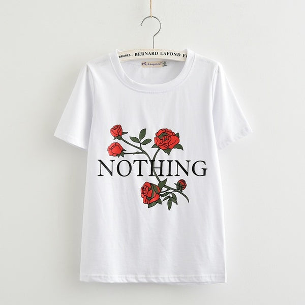 Summer T-Shirt Nothing Rose - stimur