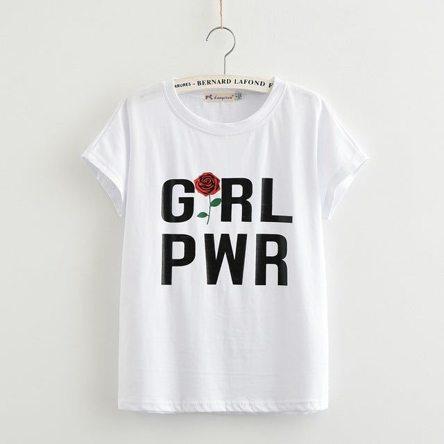 Summer T-Shirt Girl Power - stimur