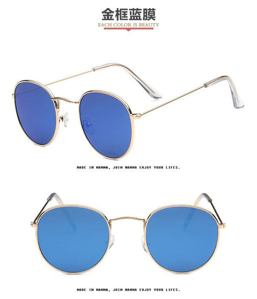 Retro Round Sunglasses Women