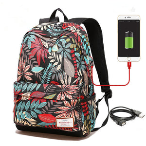 USB charging Backpack - stimur