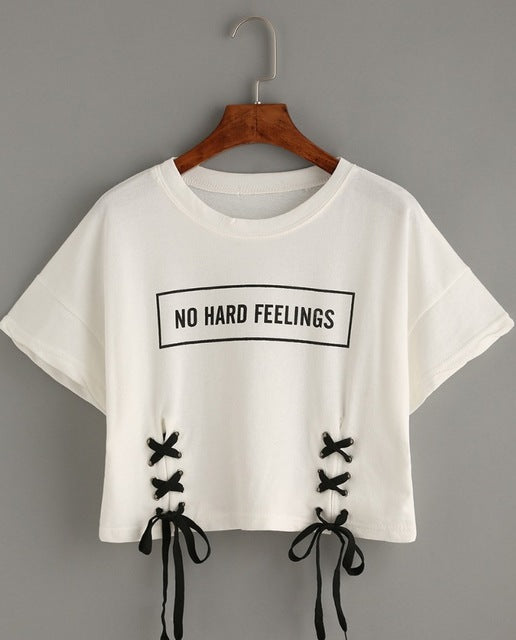 NO HARD FEELINGS T-Shirt - stimur