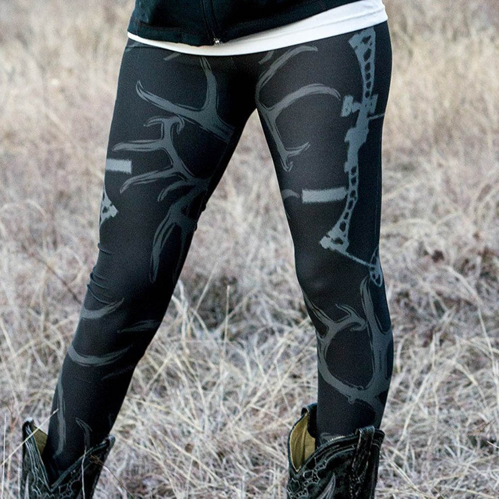 Skinny Printed Stretchy Leggings - stimur