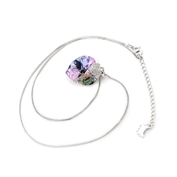 Swarovski Necklace Heart