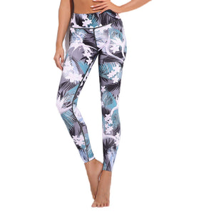 Workout Floral Leggings