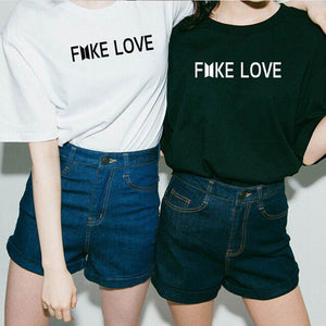 Fake Love T Shirt - stimur