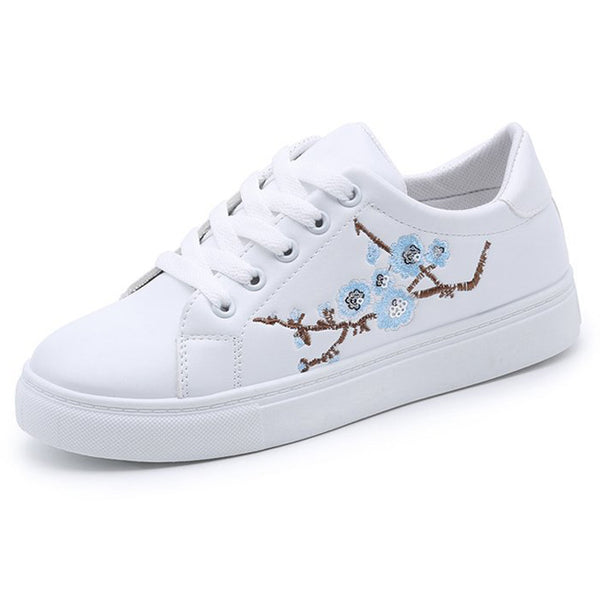 Casual Floral Sneakers - stimur