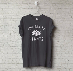 POWERED BY PLANTS T-Shirt - stimur