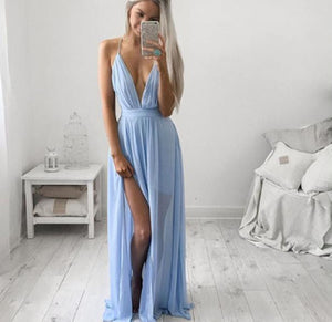 Sleeveless Boho Long Maxi Dress - stimur