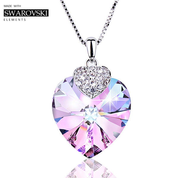 Swarovski Necklace Heart - stimur