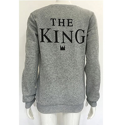 King Queen Sweatshirt - stimur