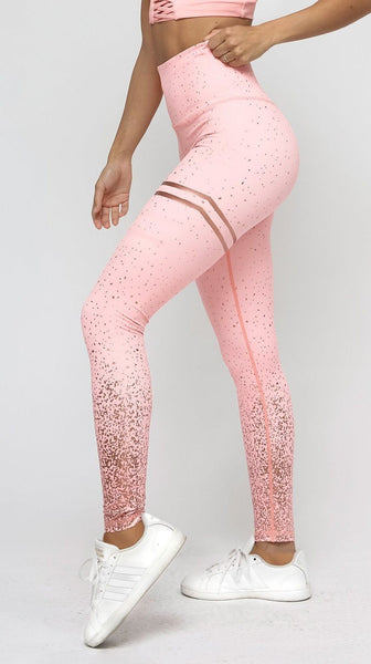 4 Color Gold Print Leggings