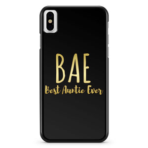 Bae Best Aunty Ever iPhone X Case