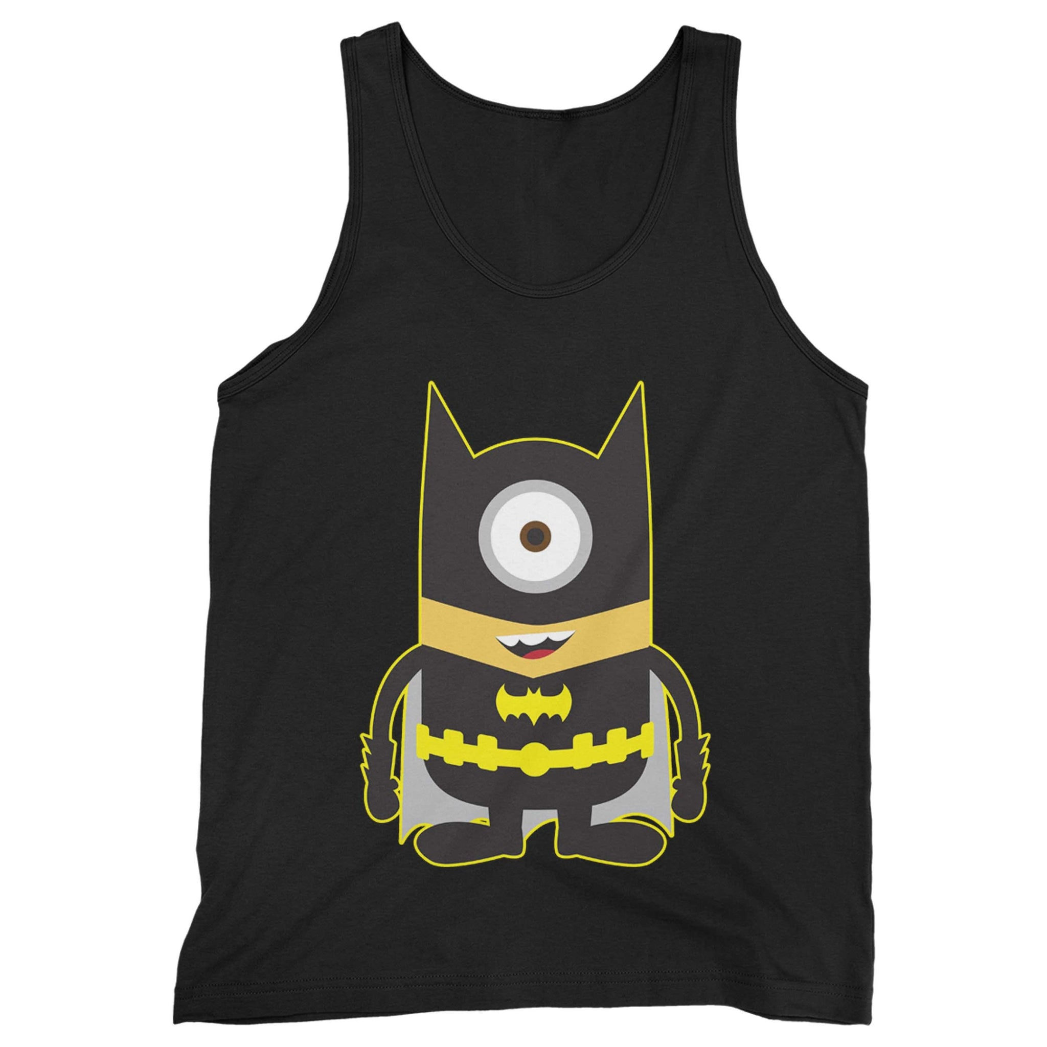 01cab2cee9cad Batman Minion Superhero Cartoon Man s Tank Top – Goodz Tee