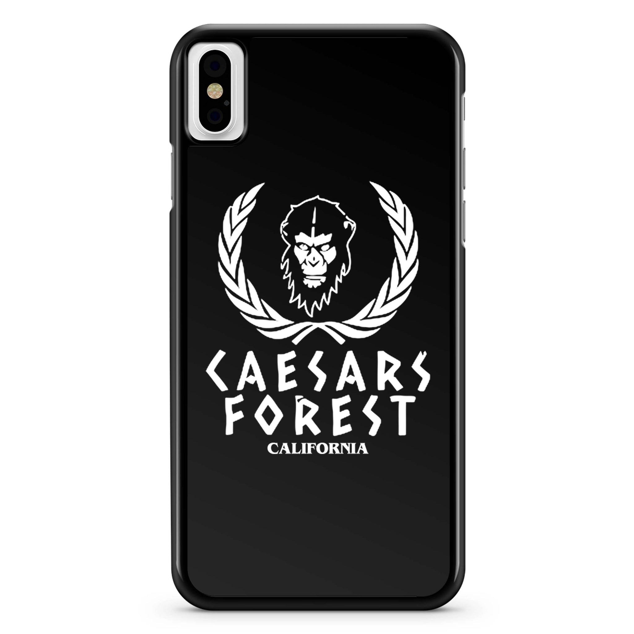 Caesars Forest Planet Of The Apes California iPhone X Case