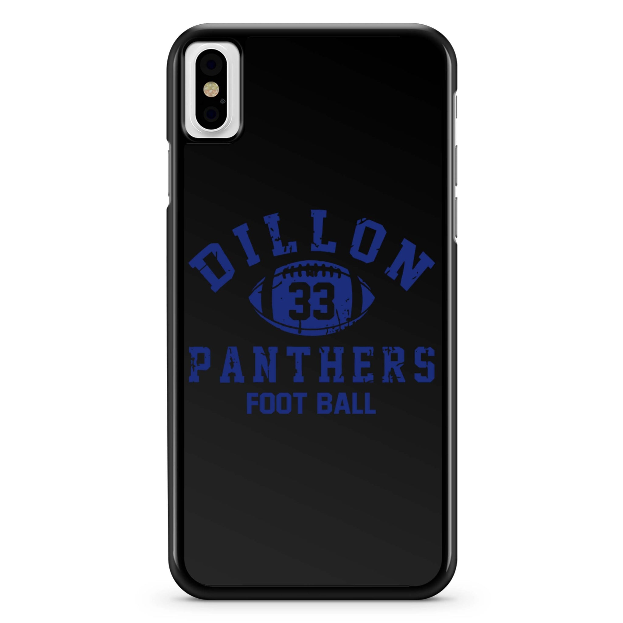 Dillon Panthers 33 Football iPhone X Case