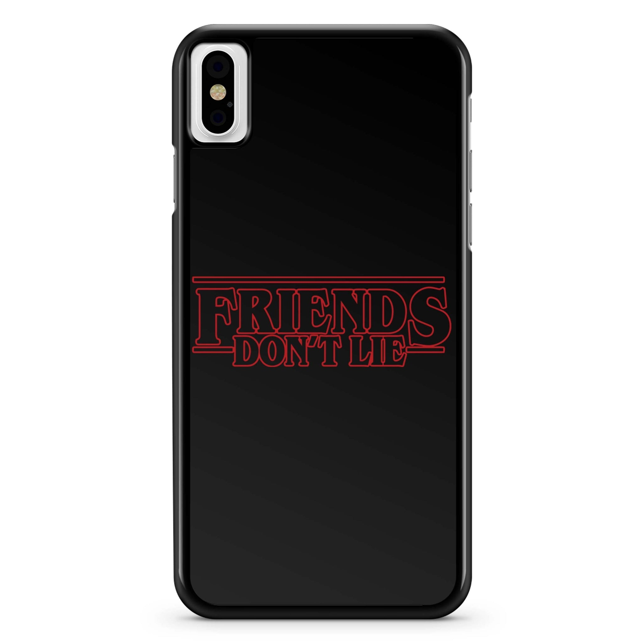 Friend Don't Lie Stranger Things iPhone X Case