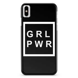 Girl Power Feminism iPhone X Case