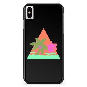 Glitter Hair Flair 80s 4 iPhone X Case