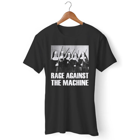 Rage Against The Machine Nuns With Guns Man's T-Shirt